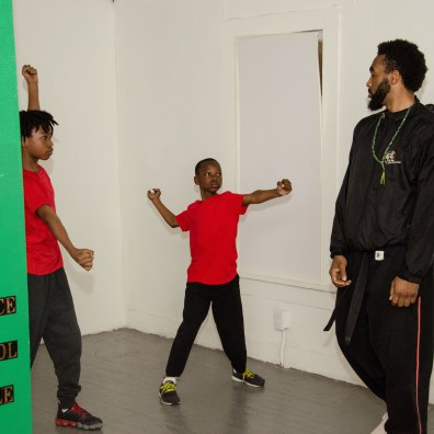 Martial Arts class at Muhammad School of Language and Martial Arts