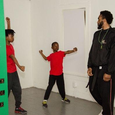 Martial Arts class at Muhammad School of Language and Martial Arts